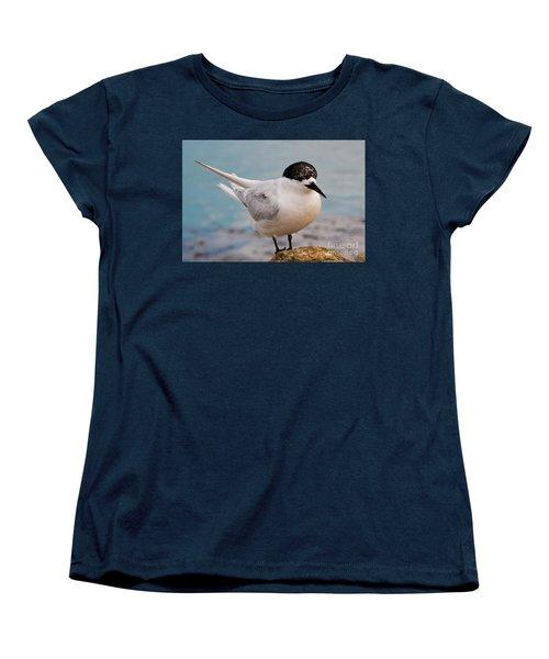 Women's T-Shirt (Standard Cut) featuring the photograph Tern 1 by Werner Padarin