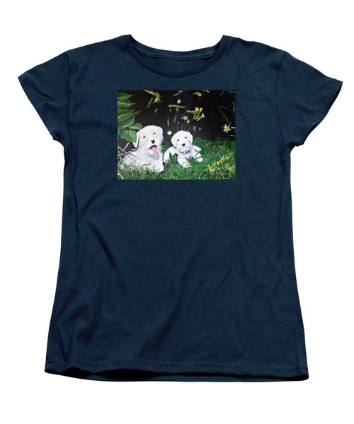 Terriers' Farm Pals. Women's T-Shirt (Standard Cut)