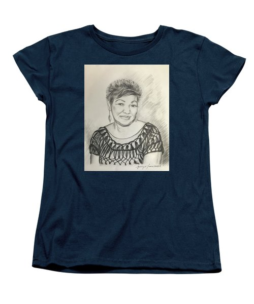 Tessie Guinto  Women's T-Shirt (Standard Cut) by Rosencruz  Sumera