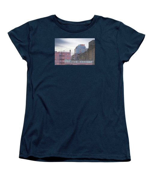 Women's T-Shirt (Standard Cut) featuring the digital art Teweles Seed Co by David Blank