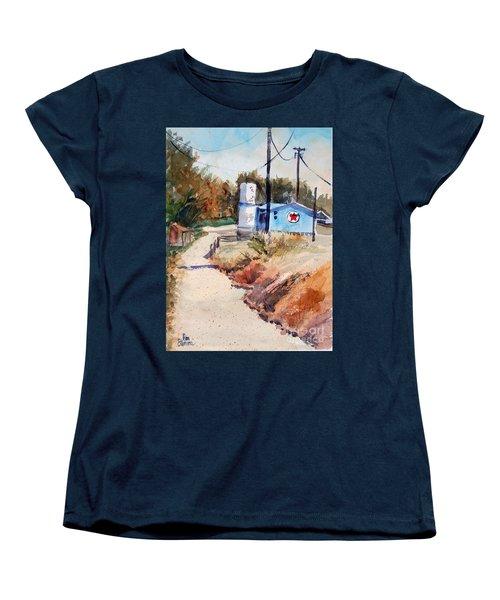 Texaco Women's T-Shirt (Standard Cut) by Ron Stephens
