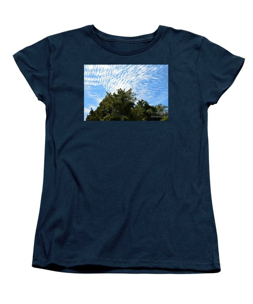 Women's T-Shirt (Standard Cut) featuring the photograph Texas Scene - Midday  by Ray Shrewsberry