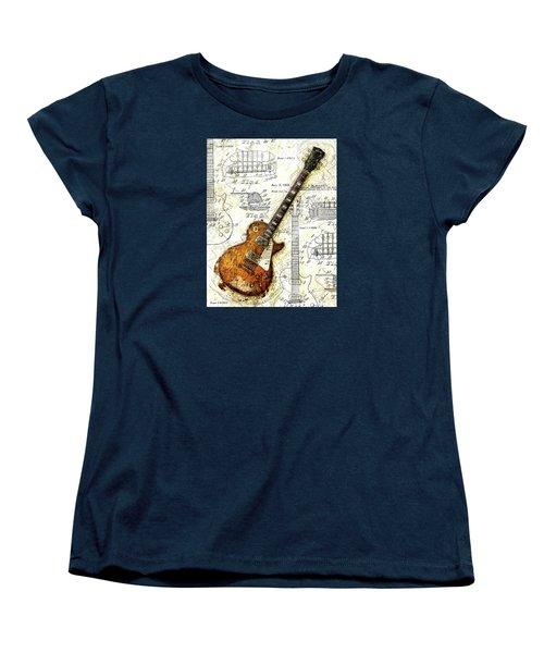 The 1955 Les Paul Custom Women's T-Shirt (Standard Cut)