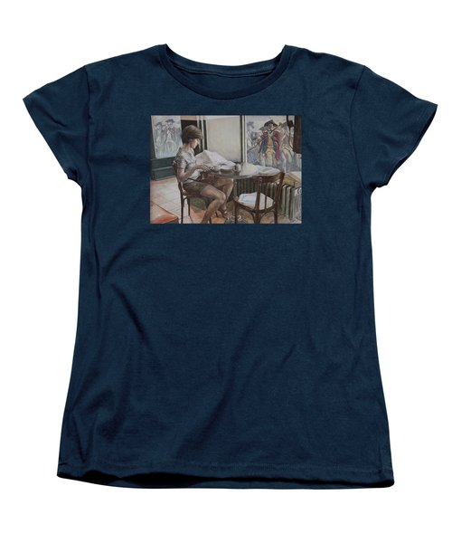 The 4th Of July Women's T-Shirt (Standard Cut) by Yvonne Wright