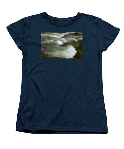 Women's T-Shirt (Standard Cut) featuring the photograph The Action On Top by Mike Eingle