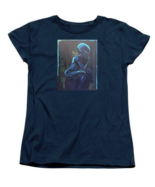 The Alien Thinker Women's T-Shirt (Standard Cut)