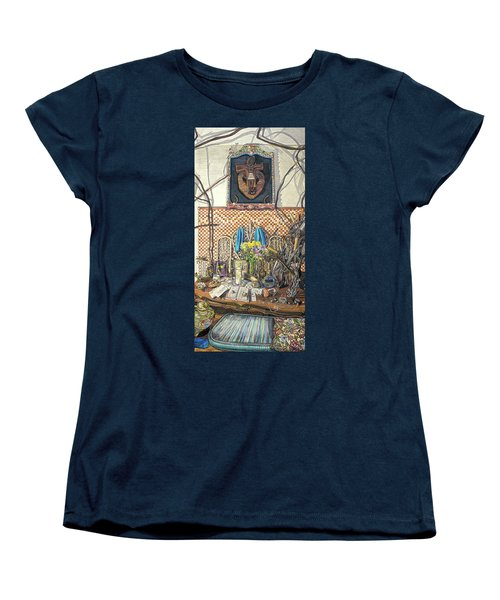 The Altar Women's T-Shirt (Standard Cut) by Bonnie Siracusa