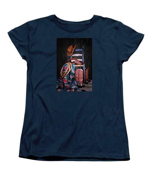 The American West Women's T-Shirt (Standard Cut) by Tom Mc Nemar