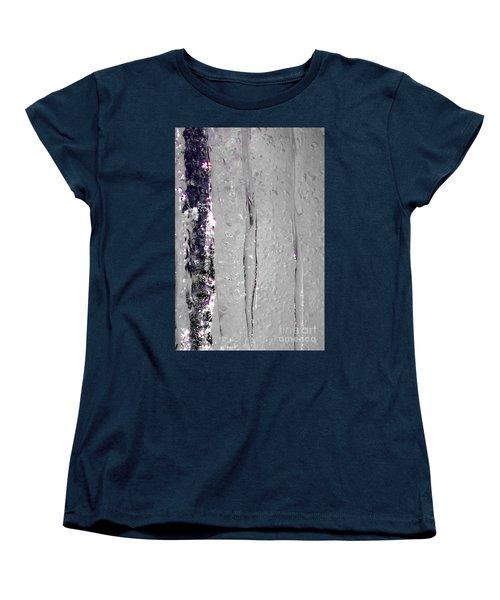 The Wall Of Amethyst Ice  Women's T-Shirt (Standard Cut)