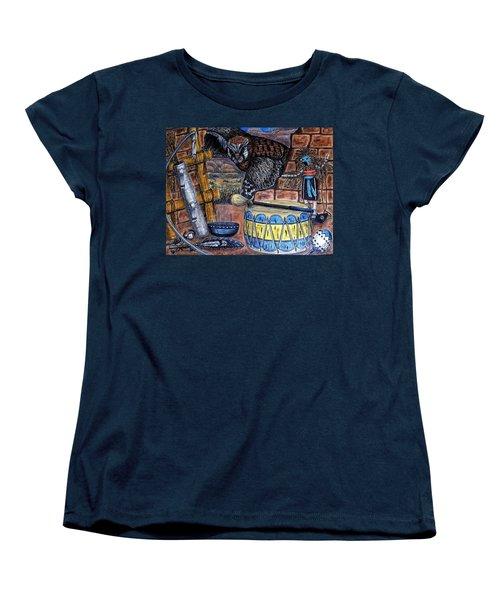 The Answer Comes Women's T-Shirt (Standard Cut) by Kim Jones