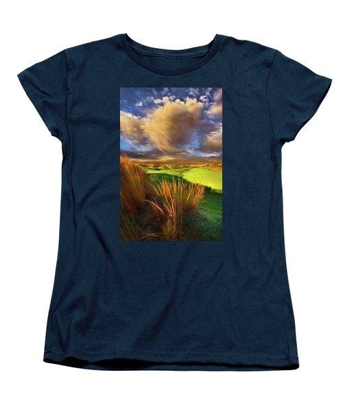 The Back Nine Women's T-Shirt (Standard Cut) by Phil Koch