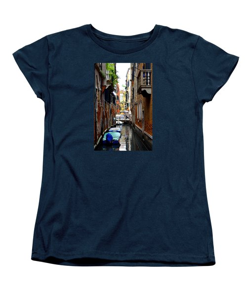 Women's T-Shirt (Standard Cut) featuring the photograph The Balcony by Richard Ortolano