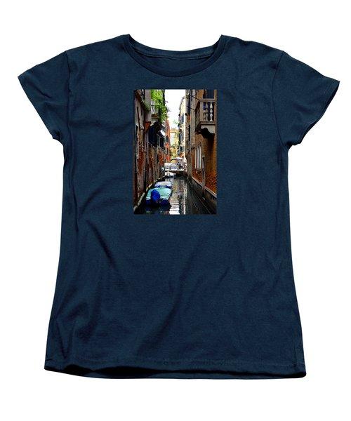The Balcony Women's T-Shirt (Standard Cut) by Richard Ortolano