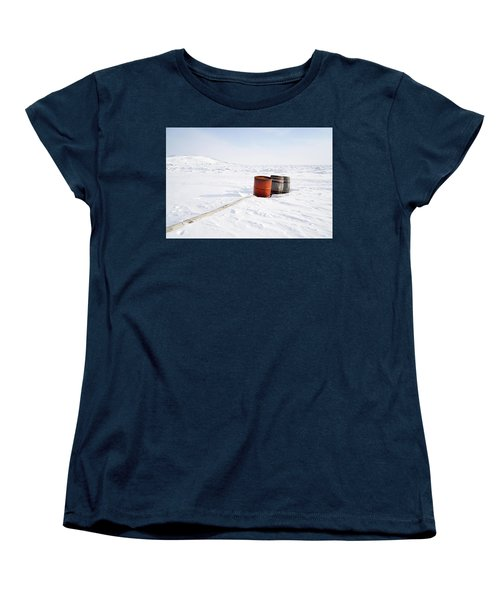 The Barrels Women's T-Shirt (Standard Cut) by Nick Mares