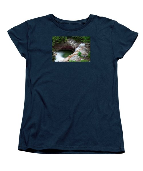 The Basin From Above Women's T-Shirt (Standard Cut) by Michael Hubley