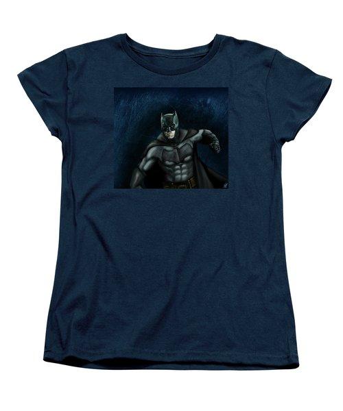The Batman Women's T-Shirt (Standard Cut) by Vinny John Usuriello