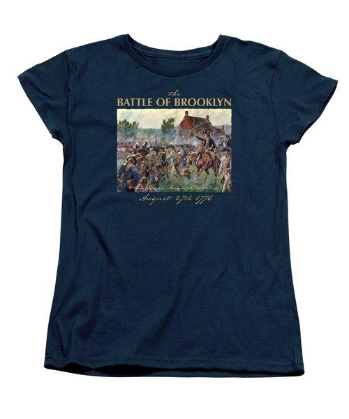 The Battle Of Brooklyn Women's T-Shirt (Standard Cut) by Mark Maritato