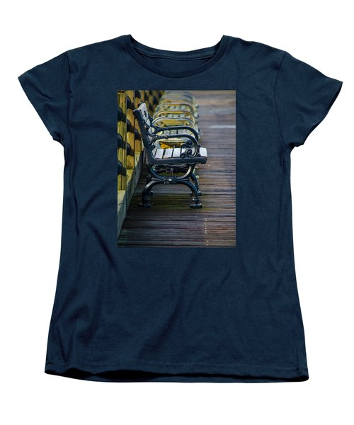 The Bench Women's T-Shirt (Standard Cut) by Mary Ward