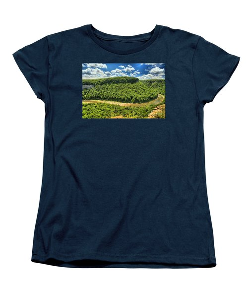 The Big Bend Women's T-Shirt (Standard Cut) by Adam Jewell