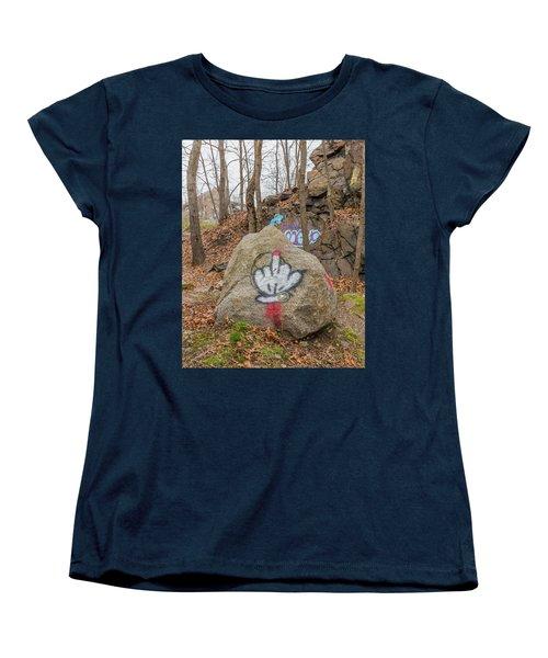 The Bird Women's T-Shirt (Standard Cut) by Brian MacLean