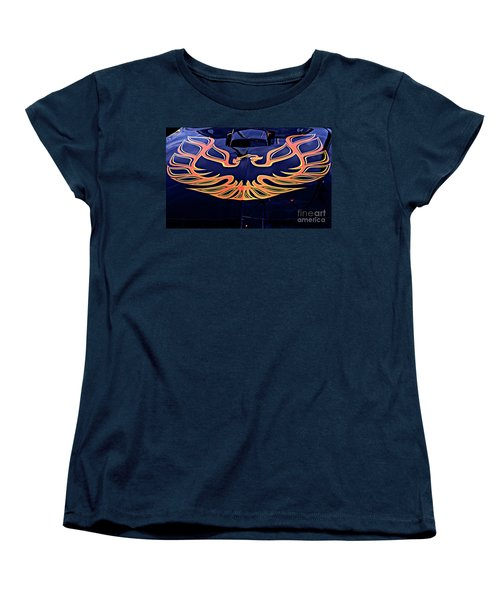 The Bird - Pontiac Trans Am Women's T-Shirt (Standard Cut) by Jane Eleanor Nicholas