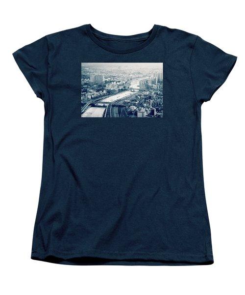 The Bisection Of Saigon Women's T-Shirt (Standard Cut) by Joseph Westrupp
