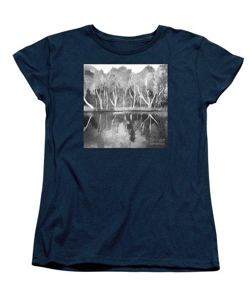 The Black And White Autumn Women's T-Shirt (Standard Cut)