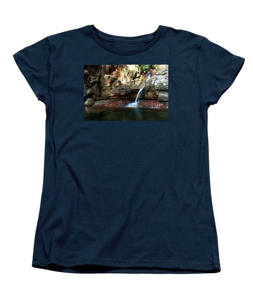 The Blue Hole In November #2 Women's T-Shirt (Standard Cut) by Jeff Severson