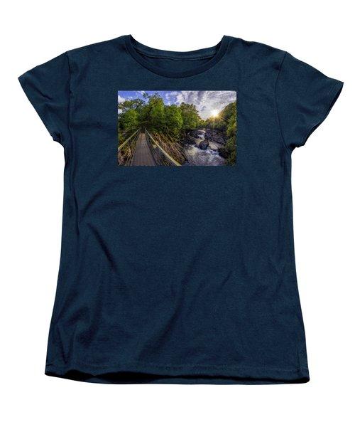 The Bridge To Summer Women's T-Shirt (Standard Cut) by Ian Mitchell