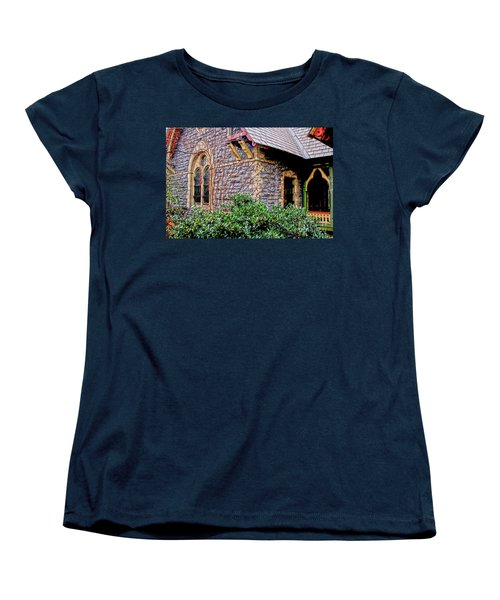 Women's T-Shirt (Standard Cut) featuring the photograph Central Park Dairy Cottage by Sandy Moulder