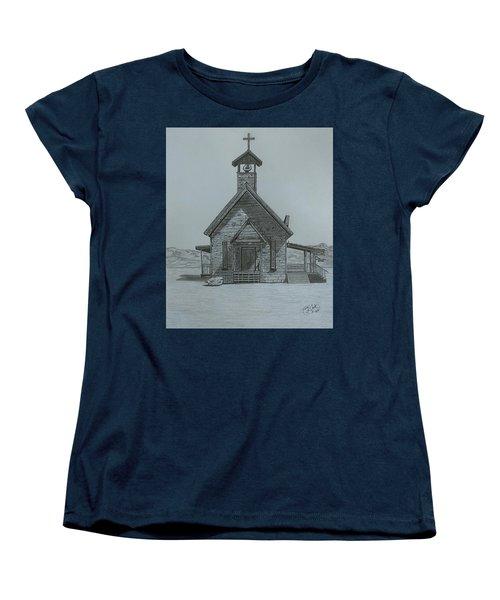 The Chapel  Women's T-Shirt (Standard Cut)