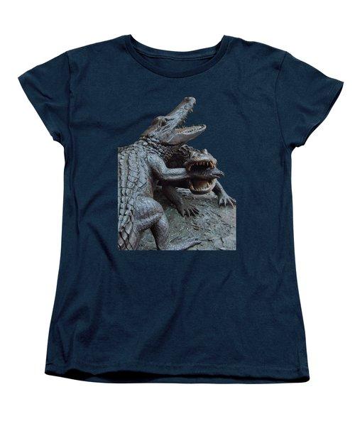 The Chomp Transparent For Customization Women's T-Shirt (Standard Cut) by D Hackett