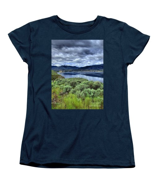 The City And The Clouds Women's T-Shirt (Standard Cut)