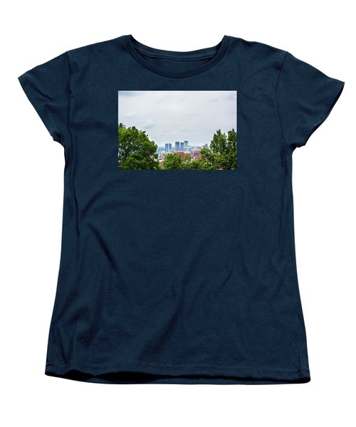 Women's T-Shirt (Standard Cut) featuring the photograph The City Beyond by Shelby Young