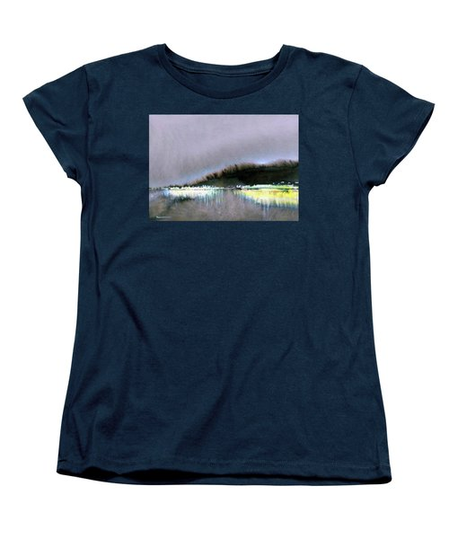 The City Lights Women's T-Shirt (Standard Cut) by Ed Heaton
