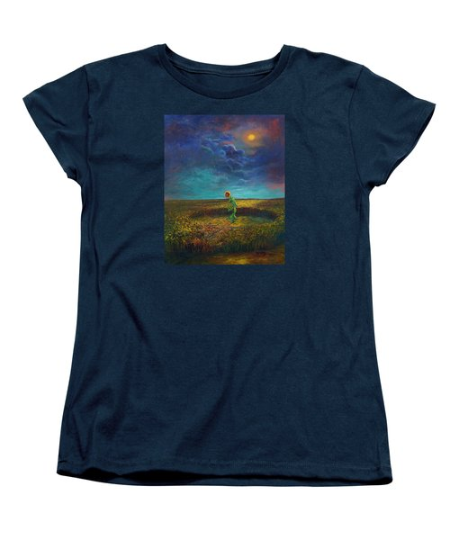 The Clock Of God Women's T-Shirt (Standard Cut) by Randy Burns