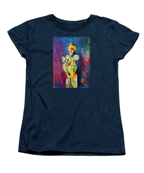 The Clown Women's T-Shirt (Standard Cut) by Kim Gauge