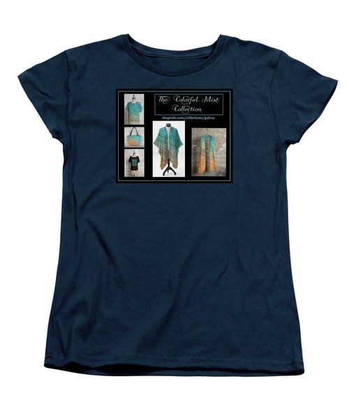 The Colorful Mist Collection Women's T-Shirt (Standard Cut) by Geraldine Alexander