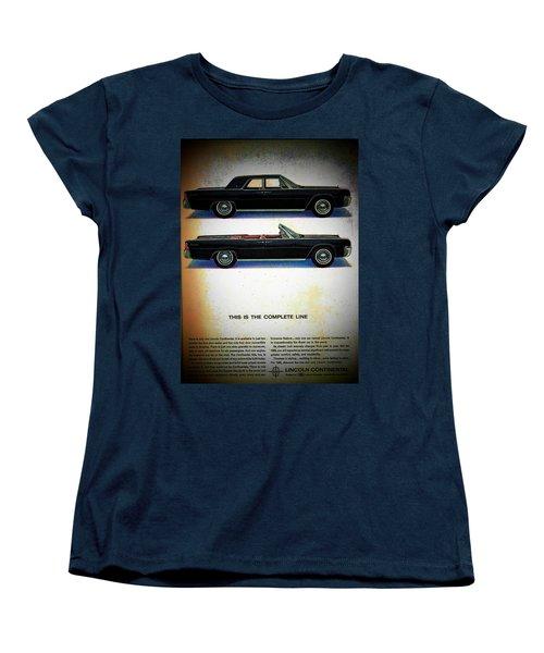 The Complete Line Women's T-Shirt (Standard Cut) by John Schneider