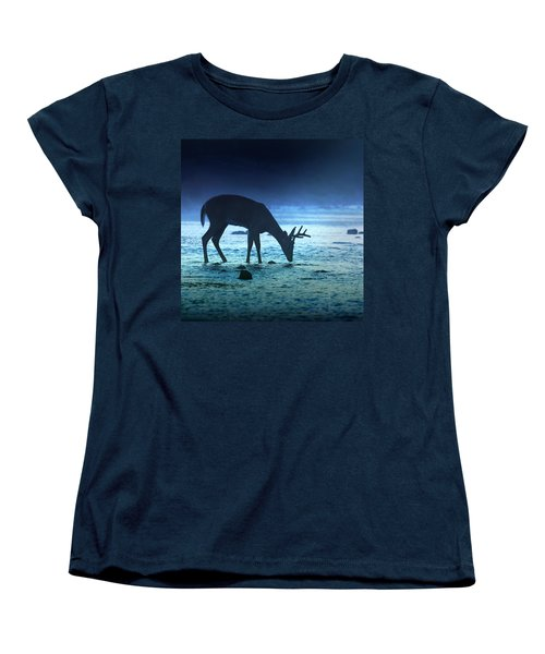 The Cool Of The Night - Square Women's T-Shirt (Standard Cut) by Rob Blair