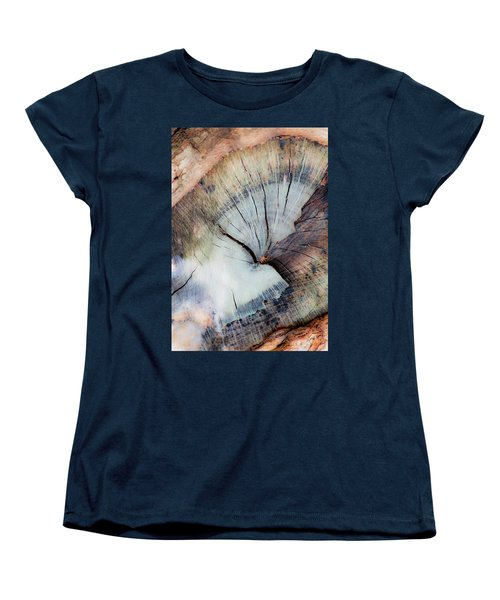 Women's T-Shirt (Standard Cut) featuring the photograph The Cut by Stephen Anderson