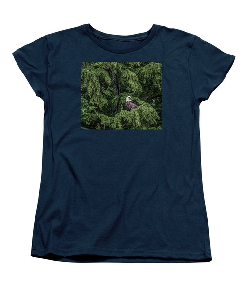 Women's T-Shirt (Standard Cut) featuring the photograph The Dark Eyed One by Timothy Latta