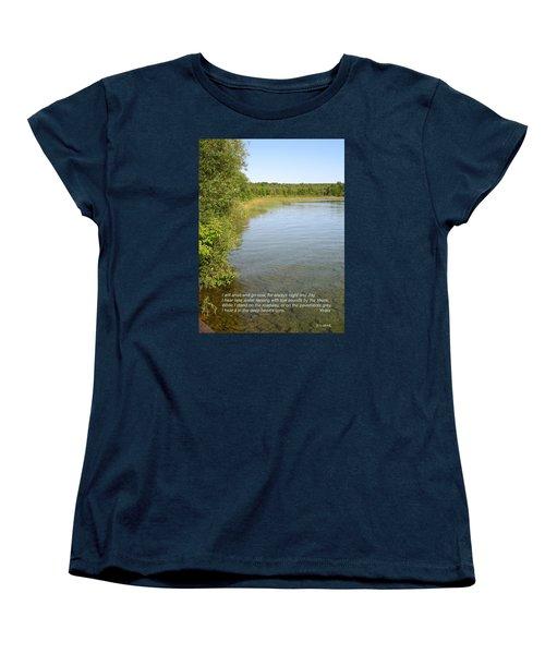The Deep Heart's Core Women's T-Shirt (Standard Cut) by Deborah Dendler