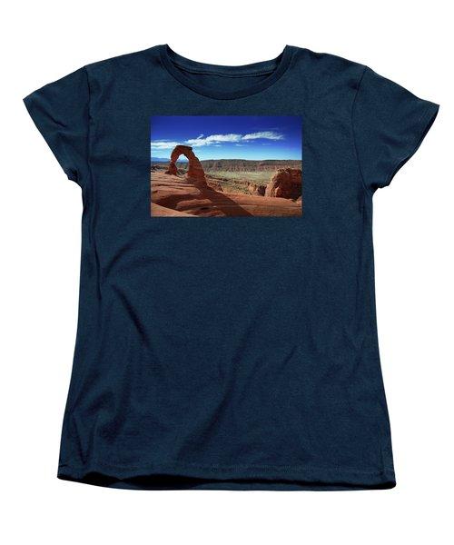 The Delicate Arch Women's T-Shirt (Standard Cut)