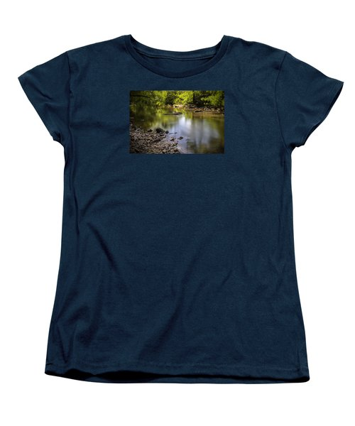 Women's T-Shirt (Standard Cut) featuring the photograph The Devon River by Jeremy Lavender Photography