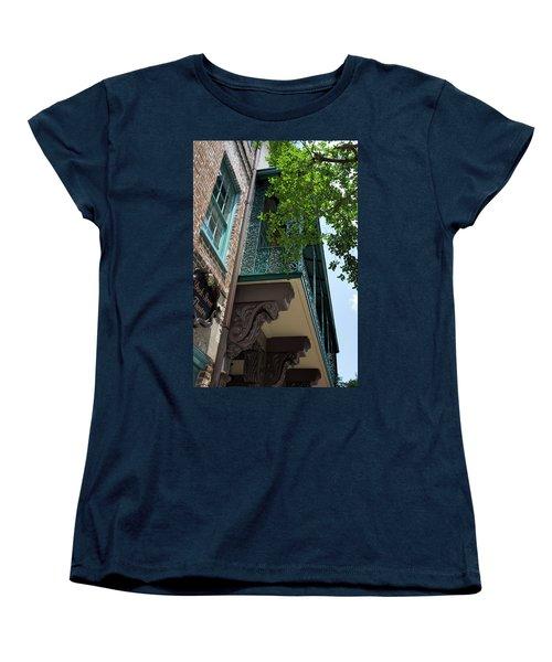 The Dock Women's T-Shirt (Standard Cut) by Ed Waldrop