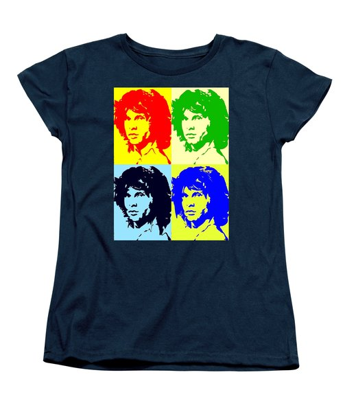 The Doors And Jimmy Women's T-Shirt (Standard Cut) by Robert Margetts