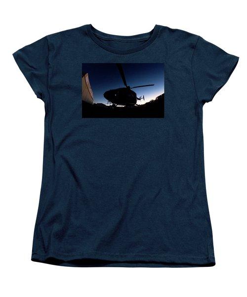 Women's T-Shirt (Standard Cut) featuring the photograph The Dot by Paul Job