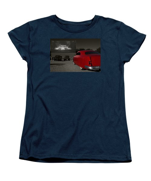 The Drive-in Women's T-Shirt (Standard Cut) by Dennis Hedberg