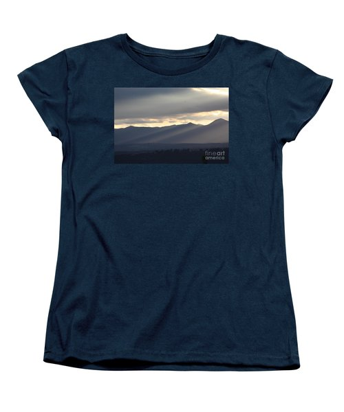 Women's T-Shirt (Standard Cut) featuring the photograph The Dying Of The Day by Brian Boyle